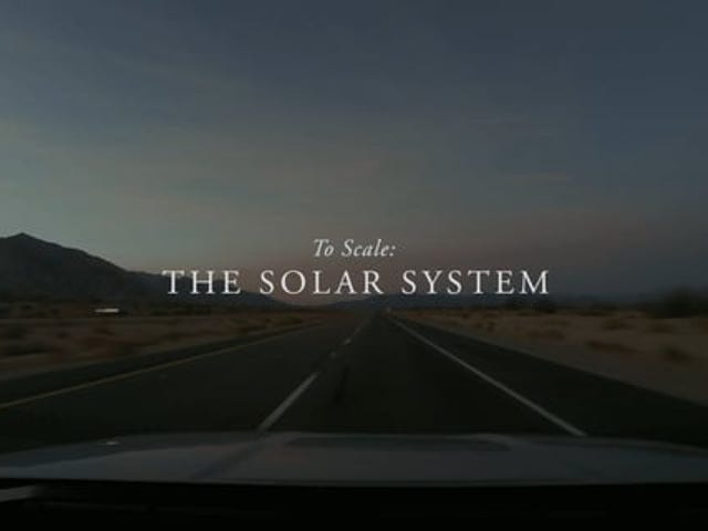 Ich wollte immer ein Maßstabsmodell des Sonnensystems bauen - diese Jungs haben es auf ein anderes Niveau gebracht