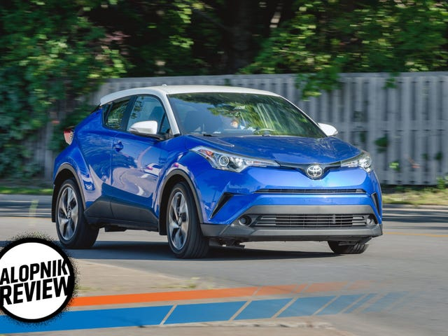 There's More To The 2018 Toyota C-HR Than Being Slow And Strange-Looking