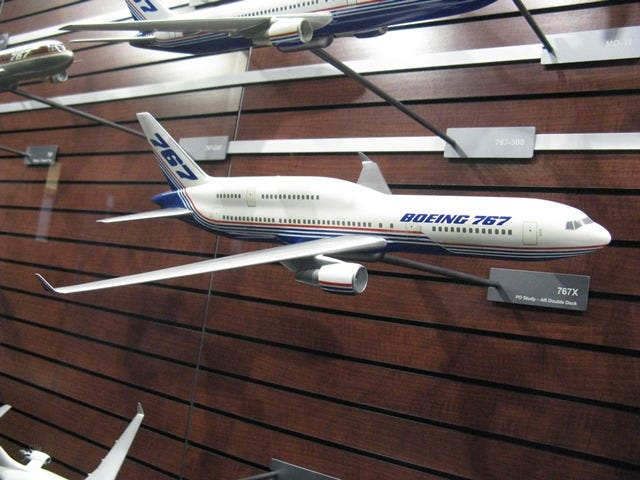 I was looking for concepts of the 747 Trijet