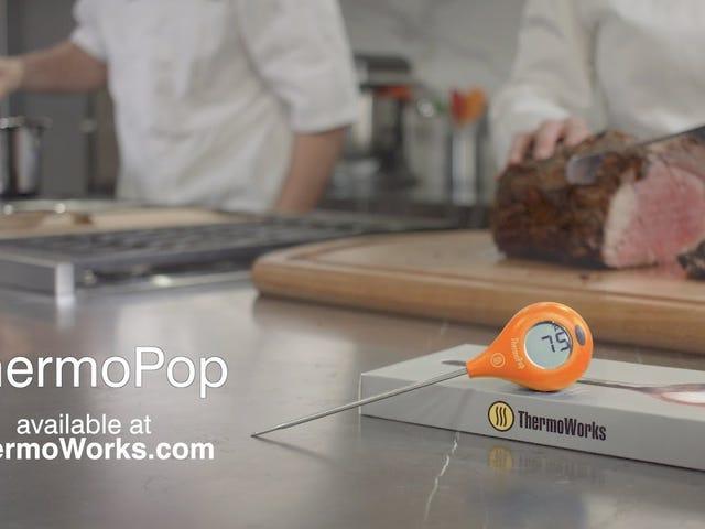 El mejor valor en termómetros de cocina es incluso más barato de lo habitual hoy
