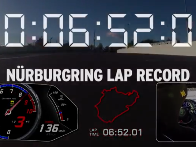 Lamborghini Rips Nürburgring Production Car Record Into Shreds; Lights Those Shreds On Fire; Casts Ashes To The Wind To Blow In The Face Of Porsche
