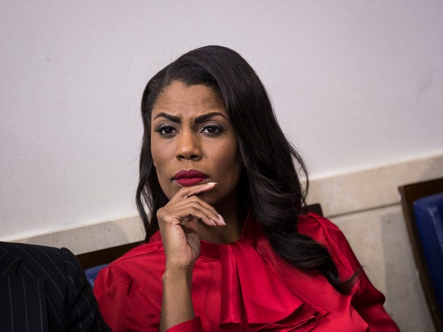Omarosa to Join Celebrity Big Brother Because What Else Was She Going to Do?