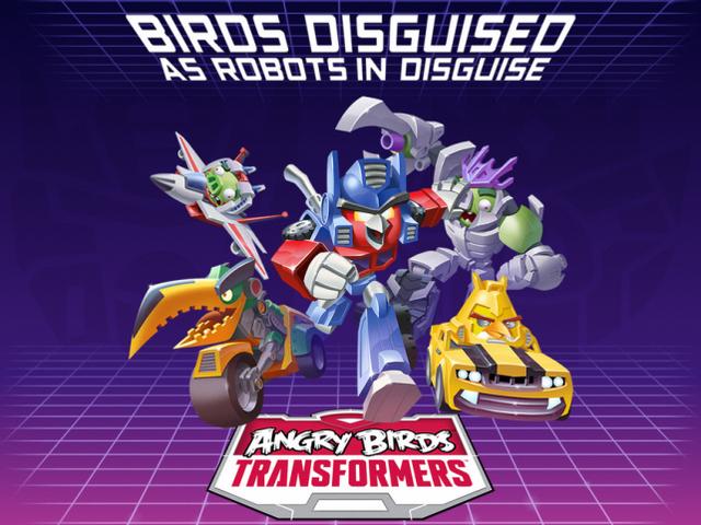 Rovio Angry Birds Transformers: Less Than Meets The Eye