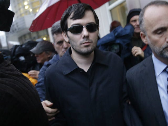 Nightmare Pharma Bro Martin Shkreli Steps Down as Turing CEO Following Arrest