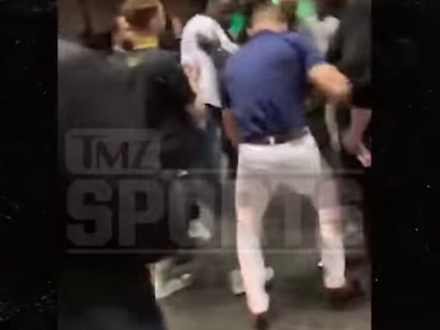 Here's Video Of Conor McGregor Stomping A Fan's Phone To Hell