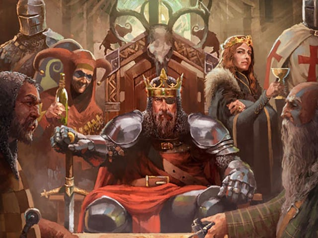 Crusader Kings II Is Now A Board Game, So You Can Murder Your Friends In Person
