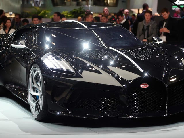 Bugatti $ 12.5 ล้านนี้เป็นรถใหม่ที่แพงที่สุดเท่าที่เคยมีมา