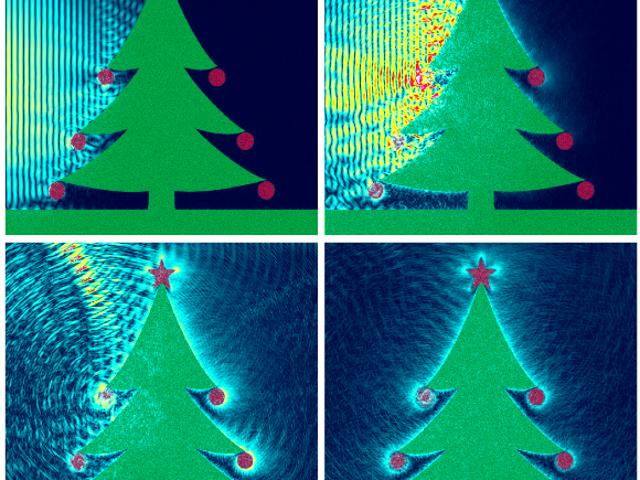 This Is How A Physicist Lights Up A Christmas Tree