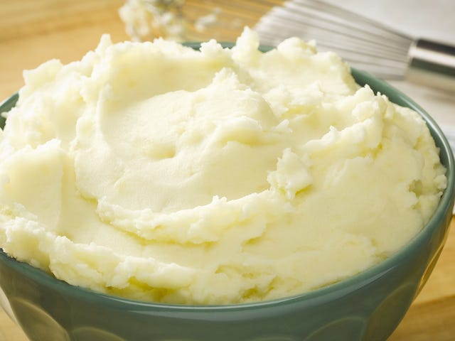Just Add Store-Bought French Onion Dip to Mashed Potatoes