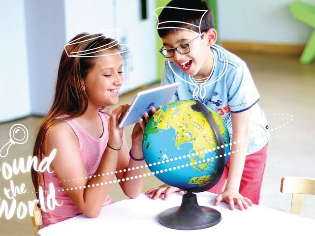 Save 20% On an Educational, Augmented Reality Globe
