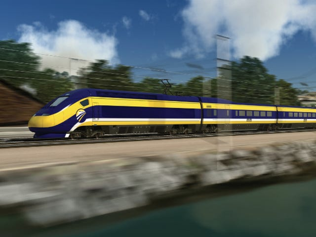 California's Bullet Train Will Now Start In the Bay Area—Which Might Save It