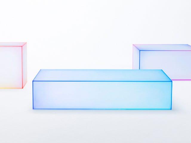Những chiếc bàn neon mờ này sẽ khơi dậy nỗi nhớ 80 của bạn