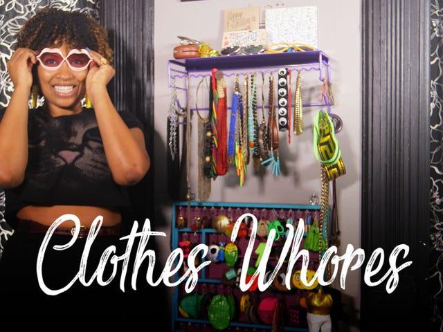 Miss Eaves, của 'Thunder Thighs' Fame, cho phép chúng tôi trong tủ quần áo 'Eclectic, thực sự hài hước' của cô