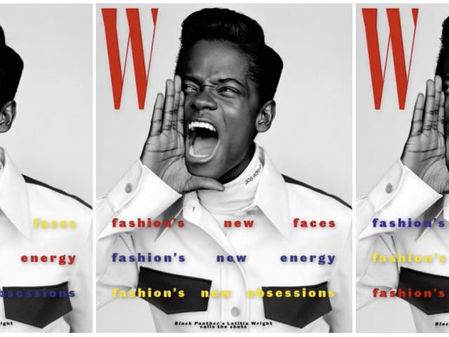 A Joyful Noise! Letitia Wright Covers W Magazine