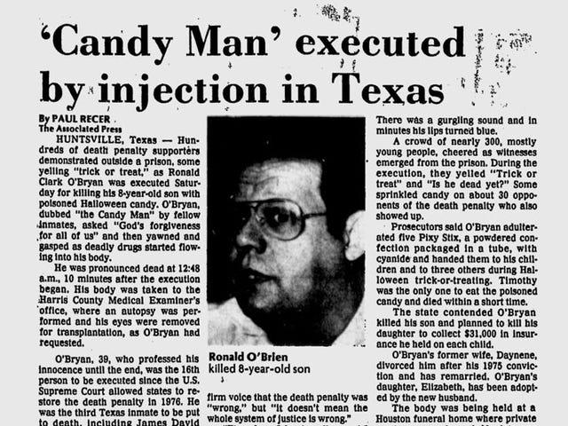 La ragione per la tua paranoia di caramelle di Halloween