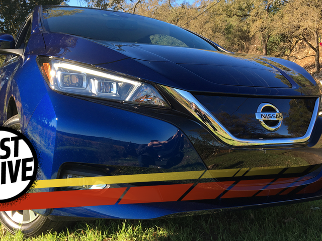 The 2018 Nissan Leaf Is An Electric Car For Calm, Rational Adults