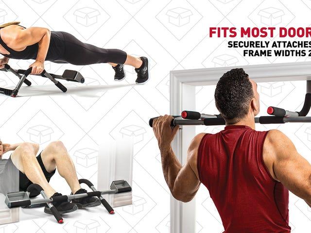 Идеальный фитнес-зал стоимостью 32 доллара дает вам хорошо спланированную тренировку, не выходя из дома