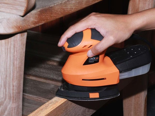 Make Sanding Suck Less With This $18 Power Tool