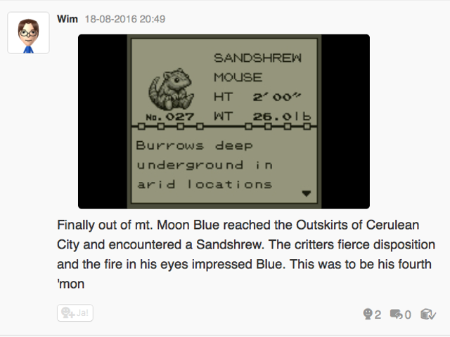 Let's play Pokemon Blue, Miiverse style part 3