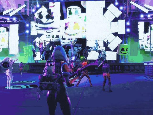 <i>Fortnite</i> havde en in-game Marshmello koncert, og det var faktisk ret stort <em></em>