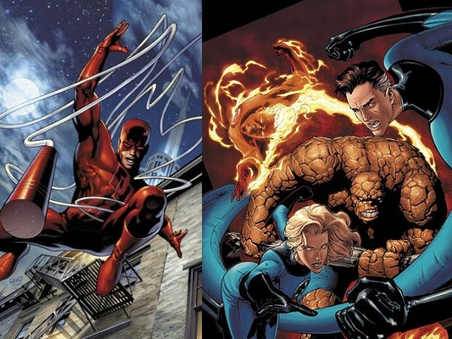 Live-Action <i>Daredevil</i> And <i>FF</i> Will Have Their Classic Costumes After All