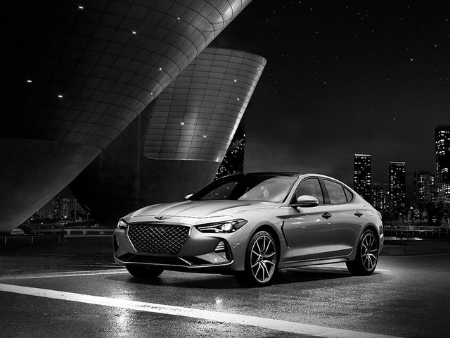 Genesis G70 is getting a manual (officially) for the US.