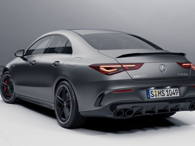 Here's the 2020 Mercedes-AMG CLA45 Before You're Supposed to See It