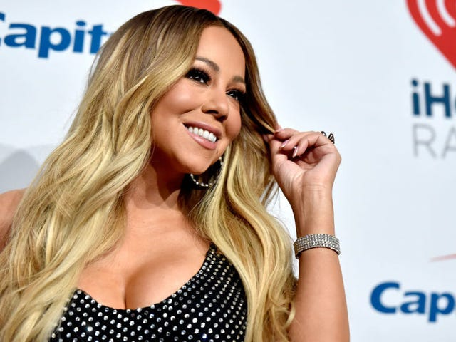 """Mariah Carey wins the 10-Year Challenge: """"Time is not something I acknowledge"""""""
