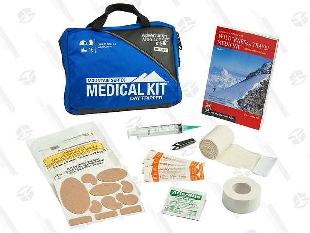 Stay Safe On the Trail With This Discounted Backcountry First Aid Kit