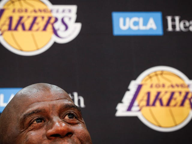 Magic Johnson Resigns As Lakers President, Which Means He Won't Be Lakers President Anymore
