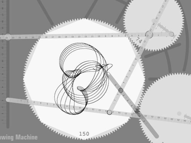 Eres un genio si puedes descubrir esta compleja máquina de cicloides dentro del navegador
