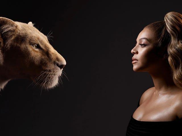 Les étoiles du roi lion rencontrent leurs homologues numériques dans une superbe série de photos