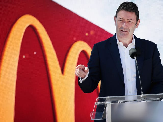 McDonald's fires its CEO over relationship with employee