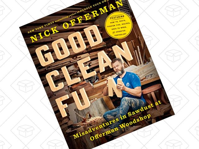 Channel Your Inner Ron Swanson With This $2 Kindle Book