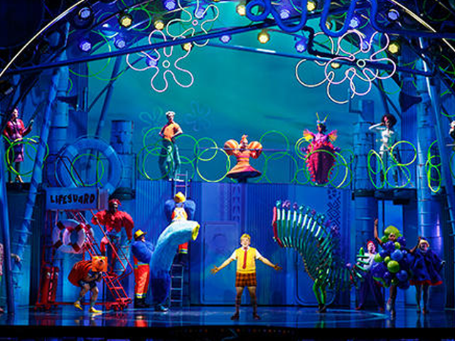 Here's Your First Look at the Spongebob Squarepants Musical (Yes, Really)