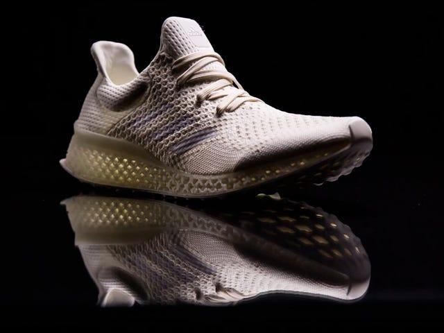 Adidas quiere imprimir en 3D zapatos para correr que se ajusten perfectamente a tus pies