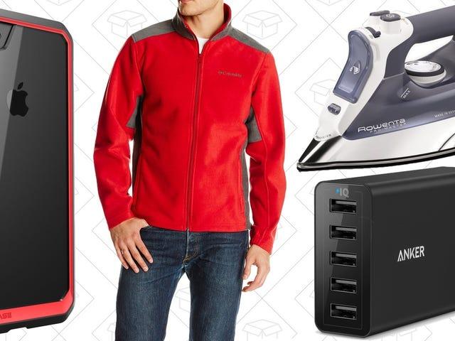 Dagens bästa erbjudanden: Vinterkläder, iPhone Fodral, Ankerladdare