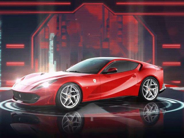 Ferrari ha fatto Retrowave