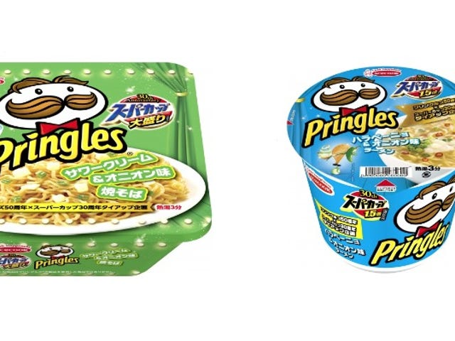 Pringles Flavored Ramen And Noodles Exist In Japan
