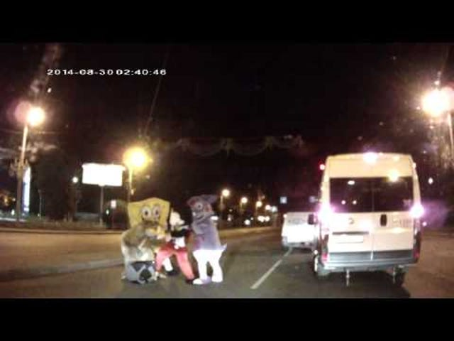 Russian Street Fight