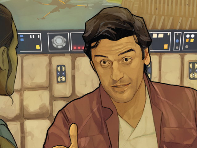 This Week's Poe Dameron Comic Examines the Quiet Moments After Star Wars: The Last Jedi