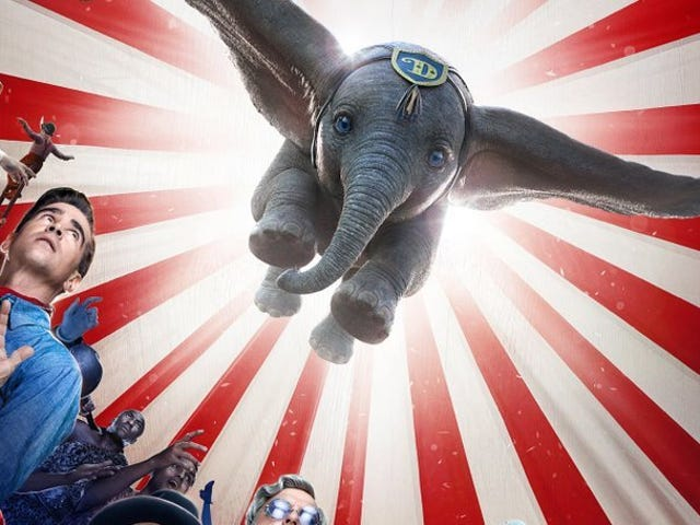 The New Trailer for Disney's Live-Action Dumbo Will Pretty Much Rip Your Heart to Shreds