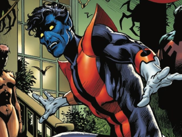 Nightcrawler returns to the X-Mansion in this Giant Size X-Men exclusive