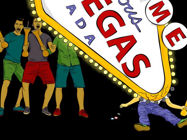 Comment survivre à une partie de célibataire à Vegas