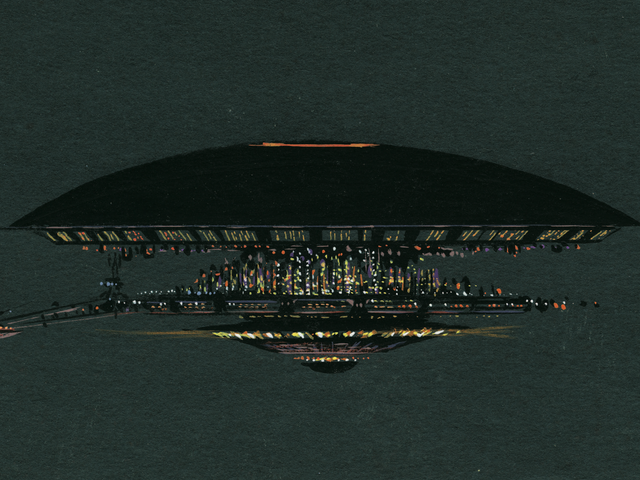 A New Book Reveals the Original Design for the Mothership inClose Encounters of the Third Kind