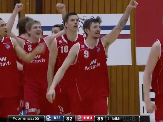 Icelandic Announcer Loses His Goddamn Mind Over Full-Court Buzzer-Beater