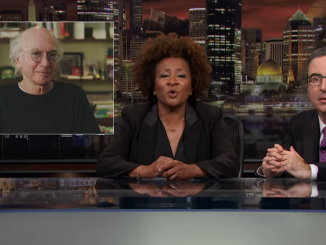 John Oliver enlists Wanda Sykes and Larry David to kvetch about medical bias