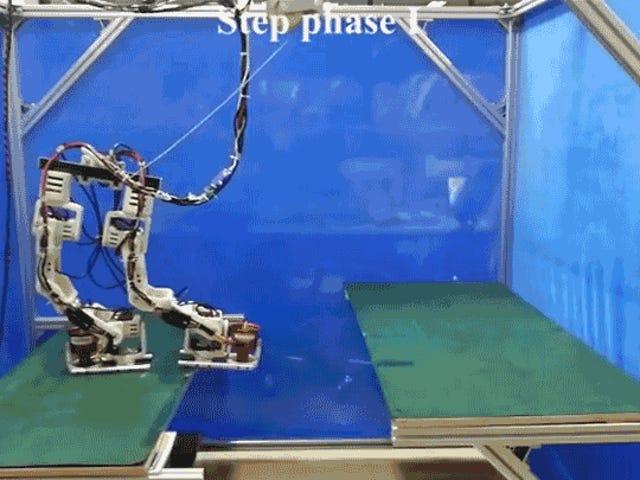 Este robot inspirado en Iron Man con pies impulsados por jet es un maestro de las Splits