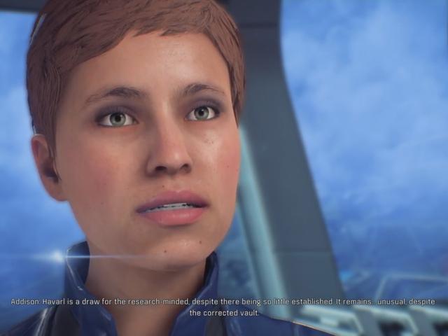 <i>Mass Effect: Andromeda's</i> trötta ansikte Lady ser nu lite mindre ut trött