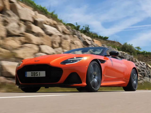 The Aston Martin DBS Superleggera Is Only Fully Realized As A Convertible
